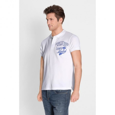 CAMPS Polo Manches Courtes - Homme - Blanc
