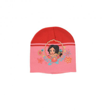 ELENA D'AVALOR Ensemble Bonnet + Gants Rouge Enfant Fille
