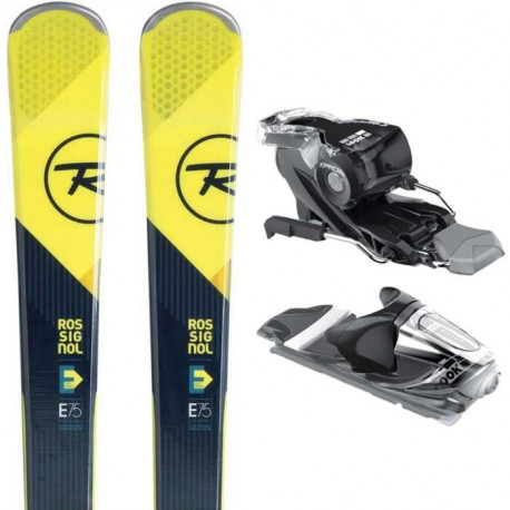 ROSSIGNOL Pack ski Experience 75 Carbon + Fixations Xpress 10 B83