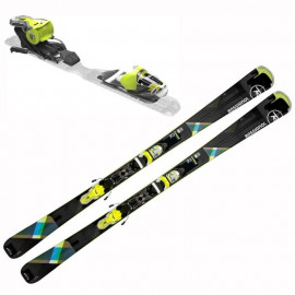ROSSIGNOL Pack ski Famous 2 + Fixations Xpress W 10 B83