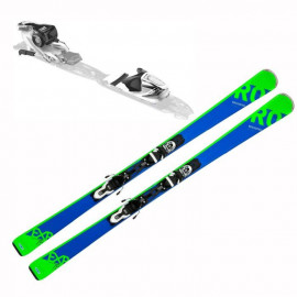 ROSSIGNOL Pack ski Experience 75 Carbon bleu + Xpress 10 B83