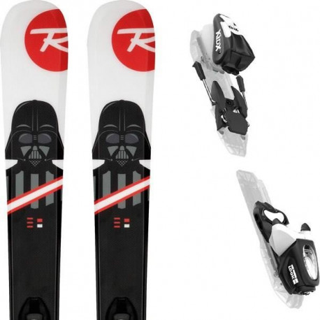 ROSSIGNOL Pack ski Star Wars + Fixations Kid-X 4 B76