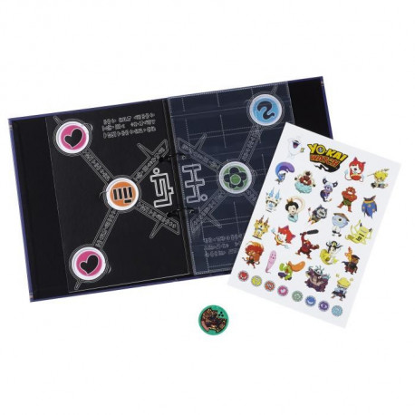 YO-KAI WATCH - Médallium Album Collector Saison 2