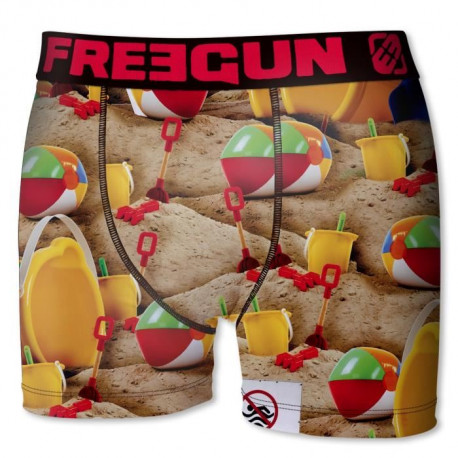 FREEGUN Boxers Garçon Ball - Multicolore