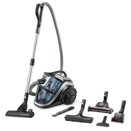 ROWENTA RO8366EA Aspirateur sans sac Silence Force Multi-Cyclonic Animal
