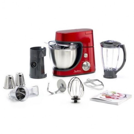 MOULINEX QA502GB1 Robot pâtissier Master Chef Gourmet - Rouge