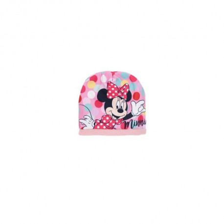 DISNEY MINNIE Ensemble Bonnet + Col Snood + Gants Rose Enfant Fille