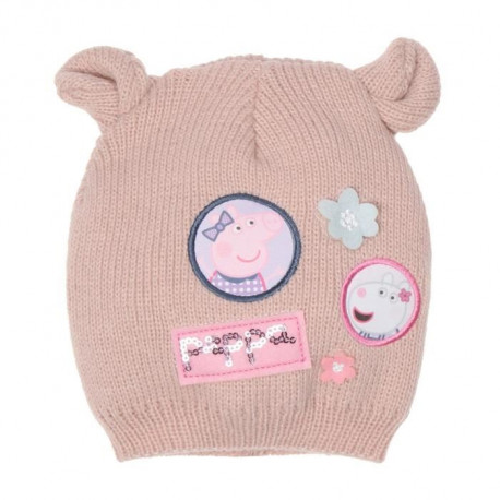 PEPPA PIG Bonnet Rose Enfant Fille