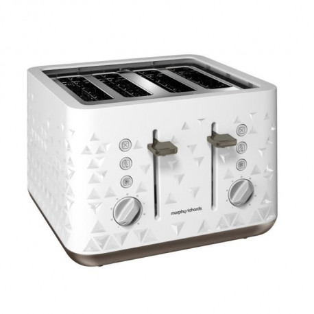 Grille-pain Morphy Richards M248102EE Prism Blanc