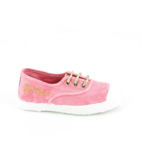 CHIPIE SHoeS Baskets de Ville Josiam Enz Rose Bonbon Enfant Fille