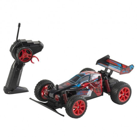 RACE TIN Véhicule RC Wolf Buggy - 1:18 - 2.4 GHz - Pack chargeur - 15 km/h