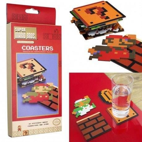Dessous de verre Nintendo : Super Mario Bros - Lot de 20
