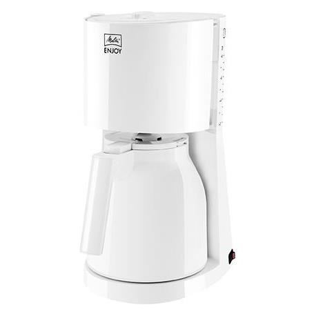 MELITTA 1017-05 Cafetiere filtre avec verseuse isotherme Enjoy II Therm - Blanc