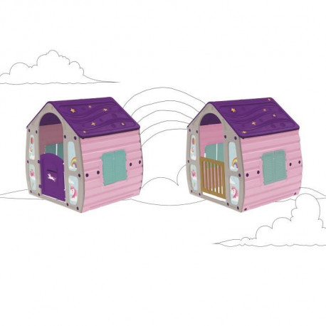 STARPLAY Maison enfant Magical Licorne