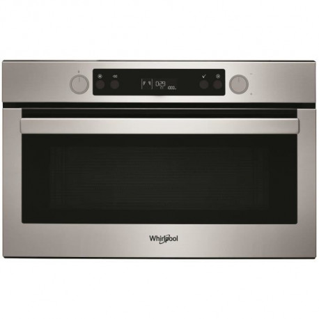 WHIRLPOOL AMW804IX Micro-ondes grill encastrable - 31L - 800 W - Combiné grill 1000W - Gris