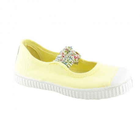 CHIPIE SHoeS Ballerines Cancan Ch Jaune Enfant Fille
