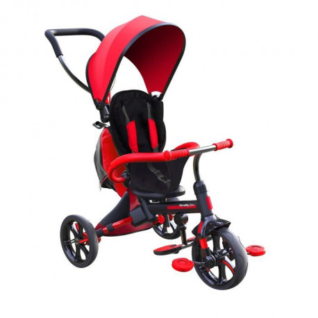 STROLLY - Tricycle Evolutif Strolly Bike - Rouge