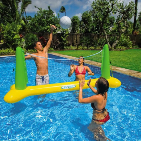 INTEX Jeu de Volley flottant pour piscine