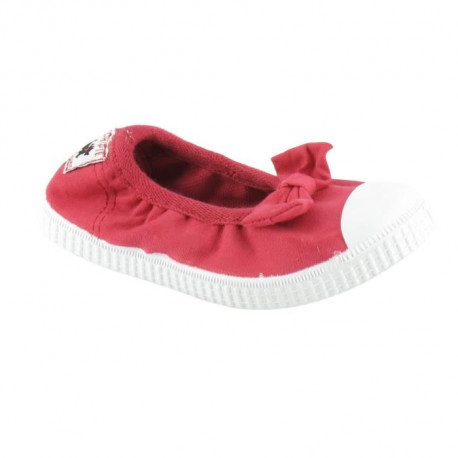 CHIPIE SHoeS Ballerines de Ville Jerk Rouge Cerise Enfant Fille