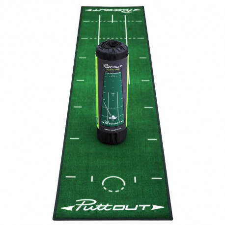 PUTTOUT Tapis de putting de golf PRO - Vert