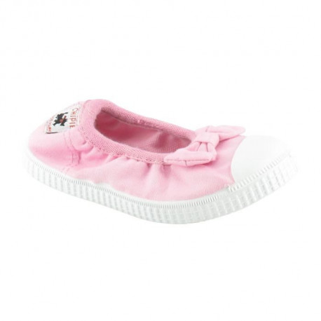 CHIPIE SHoeS Ballerines de Ville Jerk Rose Enfant Fille