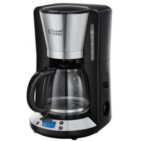 RUSSELL HOBBS 24030-56 - Cafetiere programmable Victory - 1100 W - Acier brillant