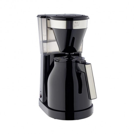 MELITTA Easy Top Therm II 1023-08 - Cafetiere filtre 1L - 1050 W - Noir