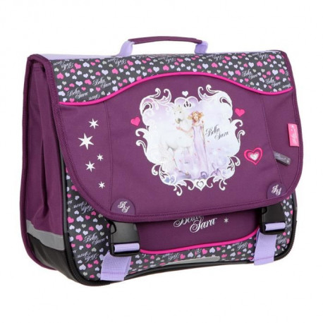 KID'ABORD BELLA SARA Cartable - 2 Compartiments - 38 cm - Violet - Primaire - Enfant Fille