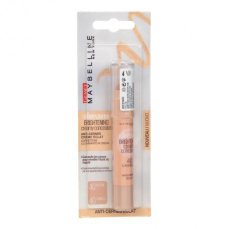 GEMEY MAYBELLINE Dream Brightening Booster Enlumineur Creme Éclat - Canelle