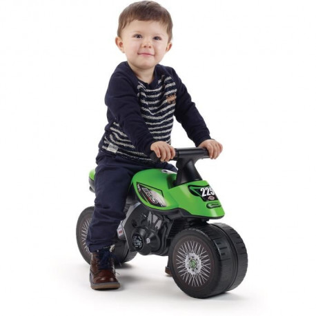 KAWASAKI Porteur Baby Moto Bud Racing - Vert