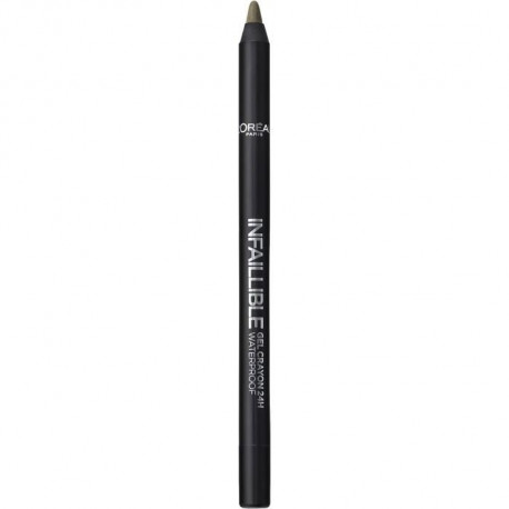 L'OREAL PARIS Gel crayon Make up designer infaillible - Pour yeux - 08 Reste en Kaki