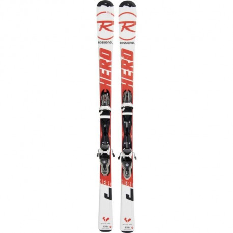 ROSSIGNOL Skis alpin Hero Junior 130-150 Xpress 7 B83 - Enfant mixte - Noir