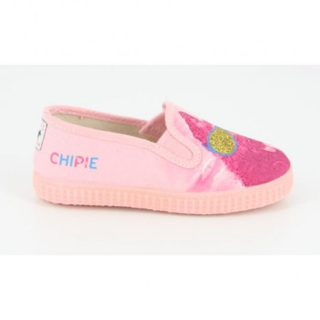 CHIPIE SHoeS Baskets de Ville Juhkhol Rose Enfant Fille