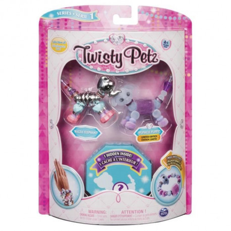 TWISTY PETZ - Pack De 3 Twisty Petz  - Modele aléatoire