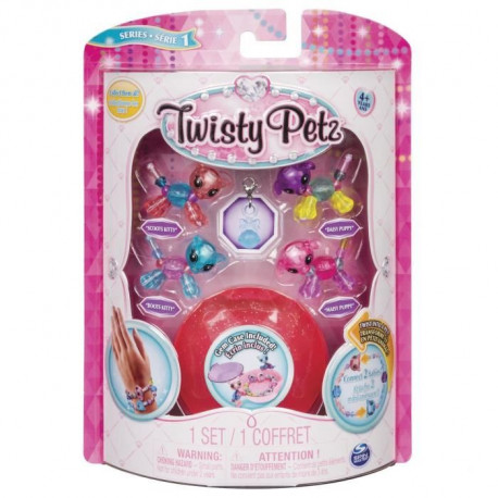 TWISTY PETZ - Pack de 4 Babies Twisty Petz - Modele aléatoire