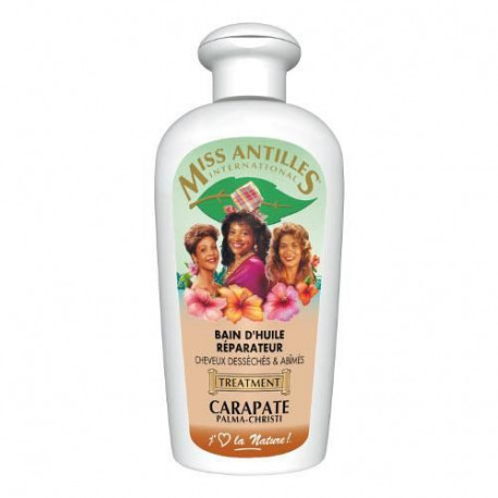 Miss Antilles International Bain D'Huile Reparateur Carapate 250 ml