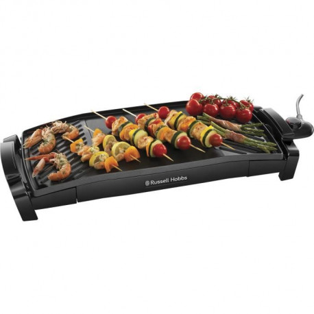 RUSSELL HOBBS 22940-56 - Plancha 2 en 1 incurvée Maxicook - 2200 W