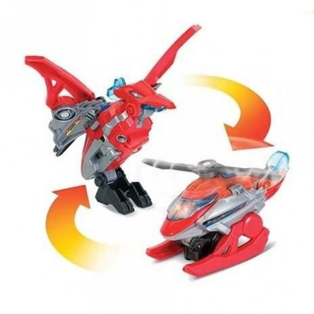 Switch & Go Dinos Mini - Helion, Le Pteranodon (Helicoptere)