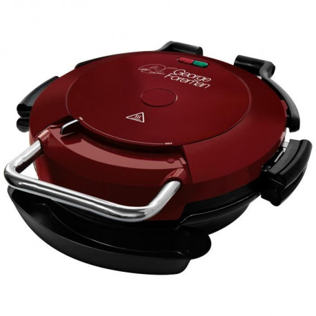 GEORGE FOREMAN Grill 24640-56 - Pizza / grill 360° - 1750 W - Rouge