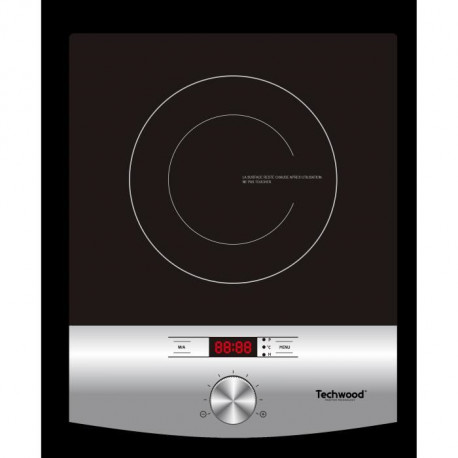 TECHWOOD TPID-120 - Plaque de cuisson a induction - 2000 W - LED