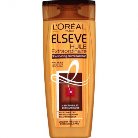 ELSEVE Shampoing Huile Extraordinaire Creme Nutrition