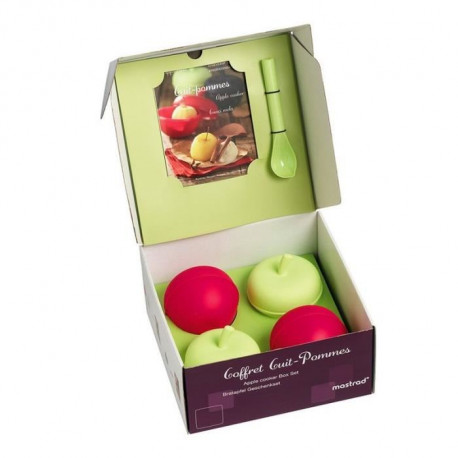 MASTRAD F71164 - Kit Cuit-fruits - Silicone sans BPA - Vert