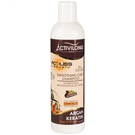 ACTIVILONG Shampooing prolongateur de lissage Actiliss Smooth - Argan et kératine - 250 ml