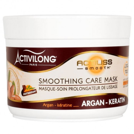 ACTIVILONG Masque-soin prolongateur de lissage Actiliss Smooth - Argan et kératine - 200 ml