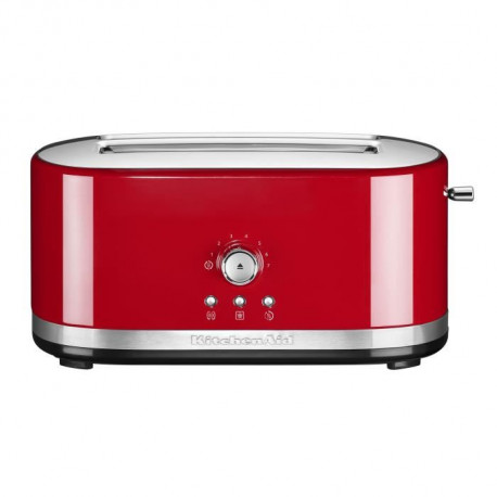 KITCHENAID 5KMT4116EER Grille-pain - 1800 W - 2 fentes - 7 positions - Rouge empire