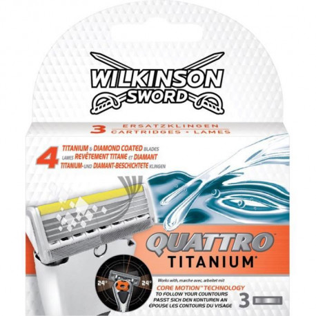 WILKINSON Lame Quat Titan Core X3