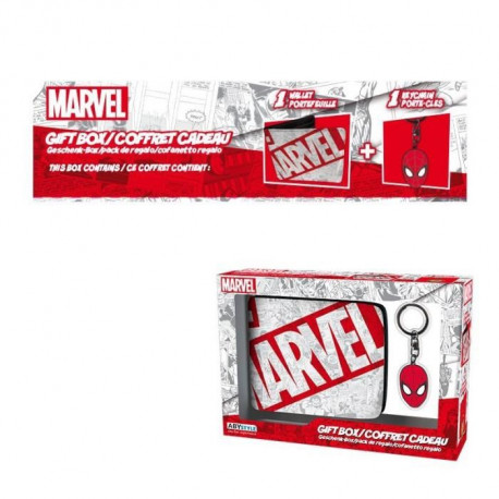 Pack Portefeuille + Porte-clés Marvel - Spider-Man - ABYstyle