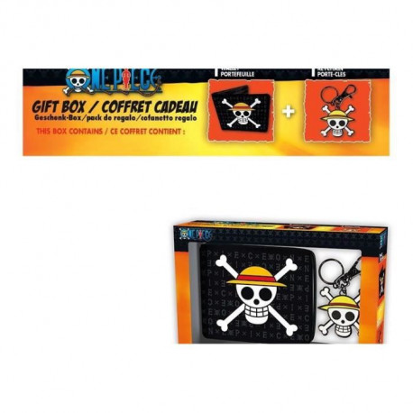 Pack Portefeuille + Porte-clés One Piece - Skull Luffy - ABYstyle