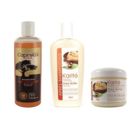 Pack nourrissant MGC Shampoing + Apres-shampoing + Masque