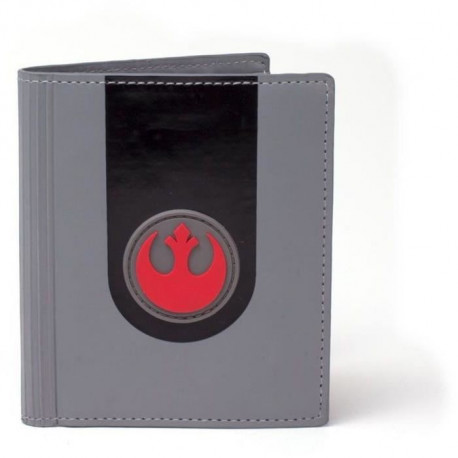 Portefeuille pliable Star Wars: Embleme de l'Alliance Rebelle